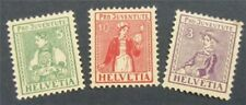 Nystamps Schweiz Stempel # b7-b9 postfrisch OG H s17x1304