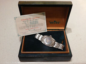 ROLEX VINTAGE EXPLORER 6610 GENTS WRISTWATCH WITH BOX AND CERTIFICATE. 1960.