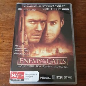 Enemy at the Gates DVD R4 Like New! FREE POST