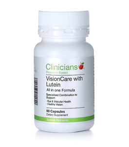 Clinicians Vision Care with Lutein All in one Formula 60 Capsules
