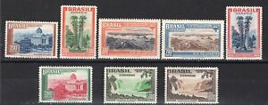 BRAZIL 1937/8 STAMP Sc. # 443/4, 446/9 AND 455/6 MH