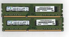 New listing 8Gb (2X 4Gb) Ddr3 1333 Pc3-10600 Desktop Computer Memory Pc Ram