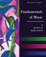 Fundamentals of Music: A Modern Approach, , KAHN  RICHARD N, Good, 2011-08-10,
