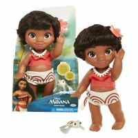 """New Disney 12"""" Young Moana Doll & Turtle Figure Bath Toy Official"""
