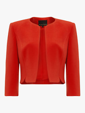 Phase Eight Devon Jacket in Tangerine/Orange Various Sizes - New with tags