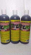 3 BOTTLES SHAMPOO CACAHUANANCHE  DEL INDIO PAPAGO LICANEA ARBOREA EXTRACT 16.9 F