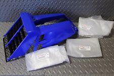 NEW OEM factory Yamaha Banshee gas tank plastic wrap + grill BLUE fits 1987-2006