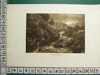 1894 Gallese Stampa ~Pont-Y-Gyfying~ T.Hudson