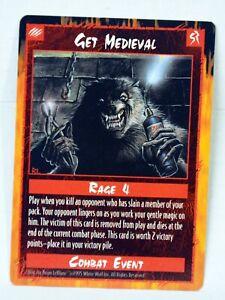 Rage CCG Promo version of Get Medieval card