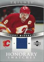 2006-07 Upper Deck Trilogy Honorary Swatches #HSLM Lanny McDonald Jersey - NM-MT
