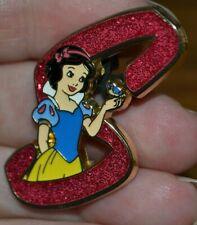 Disney Princess Snow White Letter S Alphabet Mystery Pin New