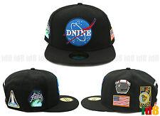 D9 DNine Reserve Nasa Hip hop Kayne west Leather Snapback Adjustable Cap Hat