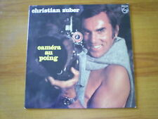CHRISTIAN ZUBER Camera au poing LP PHILIPS 1973 REPORTAGE ANIMALIER