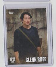 The Walking Dead Season 5 2016 Characters Trading Card #C-05 Glenn Rhee