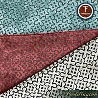 Paddington - Burnout Velvet Upholstery Fabric by the Yard - Available in 6 Color