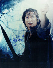 Elijah WOOD SIGNED Autograph Lord of the Rings Film HUGH 14x11 Photo AFTAL COA