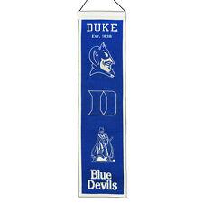 Duke Blue Devils Heritage Banner Wool Retro Banner
