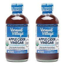 Vermont Village Apple Cider Vinegar With Blueberries & Honey 2 Pack