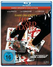 THE CARD PLAYER - Blu Ray Disc - Dario Argento -