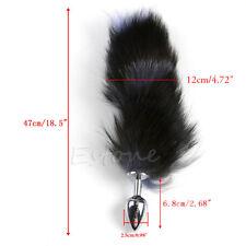Plug Fallo Anale Coda Volpe Fox Tail Bondage Metallo Butt Sex_anal_Toy