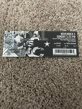 2017 Dallas Cowboys Kansas City Chiefs NFL  Football Ticket Sub 11/5 Sean Lee