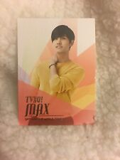 DBSK TVXQ Max Changmin Smtown Live World Tour III Official photocard KPOP K-pop