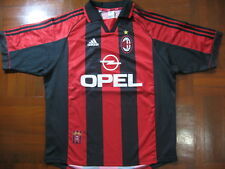 AC MILAN ITALY 1998 CALCIO HOME FOOTBALL SOCCER JERSEY SHIRT XL VTG INDOSSATA 90