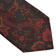 5cef1e25eaafaf Maestron Krawatte Tie Ancient Madder Seide Silk Made in Austria  Paisleymuster