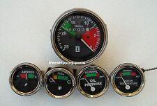Massey Ferguson Tractor- Tachometer ACW Temp   Oil Pressure  AMP  Fuel Gauge