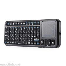 IPazzPort Mini Sans fil 2.4GHz RF Télécommande Souris QWERTY Clavier