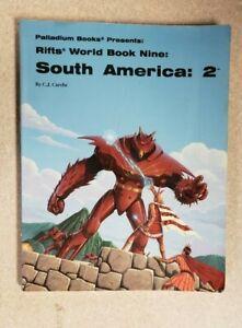 Palladium Books Rifts World Book Nine: South America 2