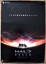 Halo Reach RARE XBOX 360 51.5 cm x 73 cm Japanese Promo Poster