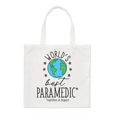 World's Best Paramedic Regular Tote Bag Funny Favourite Doctor Ambulance Shopper