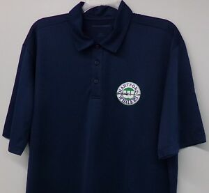 Hartford Whalers Hockey Harpoon Logo Mens Embroidered Polo XS-6XL, LT-4XLT New