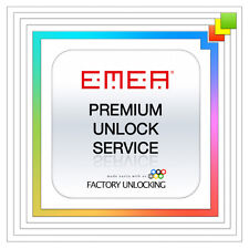iPHONE EMEA PREMIUM FACTORY UNLOCK SERVICE X 8 7+ 7 6S+ 6S 6 5S 5C 5 4S ALL IMEI