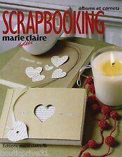 Livre  - Srapbooking - Marie-Claire