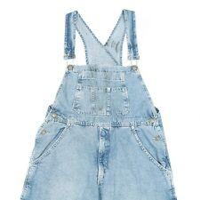Vintage Denim Dungarees | Overalls Bib Jeans Retro Wash Faded 90s