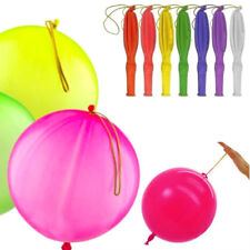 Assorted 50Pcs Large Punch Ballons Party Loot Goody Bags Bouncy Fillers Toys 10""
