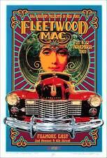 Fleetwood Mac Tribute Poster New Original Artist Edition Hand Signed David Byrd