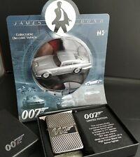 Zippo JAMES BOND 007, LIMITED EDITION xxx/777+Modellauto: Aston Martin, DB5,1:55