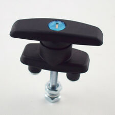 T HANDLE LATCH/LOCK KEYED ALIKE BLACK COATED FOR CABINETS SECURITY SUBSTANTIAL