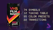 Adobe Premiere Pro Presets VHS Film Maker Motion Array  Digital Download