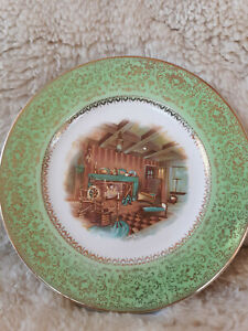 Salem China Company Imperial Service Plate Made in the U.S.A.