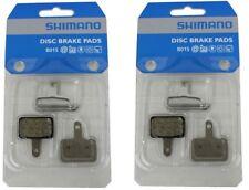 Retail Package 2 x Genuine Shimano MTB Disc Pads B01S Resin M525 M495 M475 M465