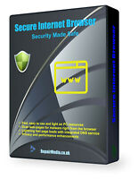 Secure Internet Browser High Security SSL Encrypted Private Secret Secure DVD