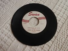 DANNY AND THE JUNIORS TWISTIN U.S.A./A THOUSAND MILES AWAY  SWAN 4060