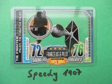 Topps Rebel Attax Star Wars Cap Karte Tie Fighter  Boost Pilot 137  Card