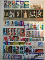 DDR ( East Germany) - Mixed Years - 16 various used full sets - 2/4/5/6 stamps