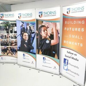 Roller Banner 800mm Display Stand - Pop / Pull / Sign Exhibition Trade Show