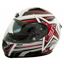LEM Casco integral con pantalla solar BORA STAR - BARGY DESIGN S ROJO STAR